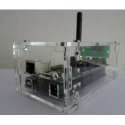 NES behuizing transparant (antenne versie)