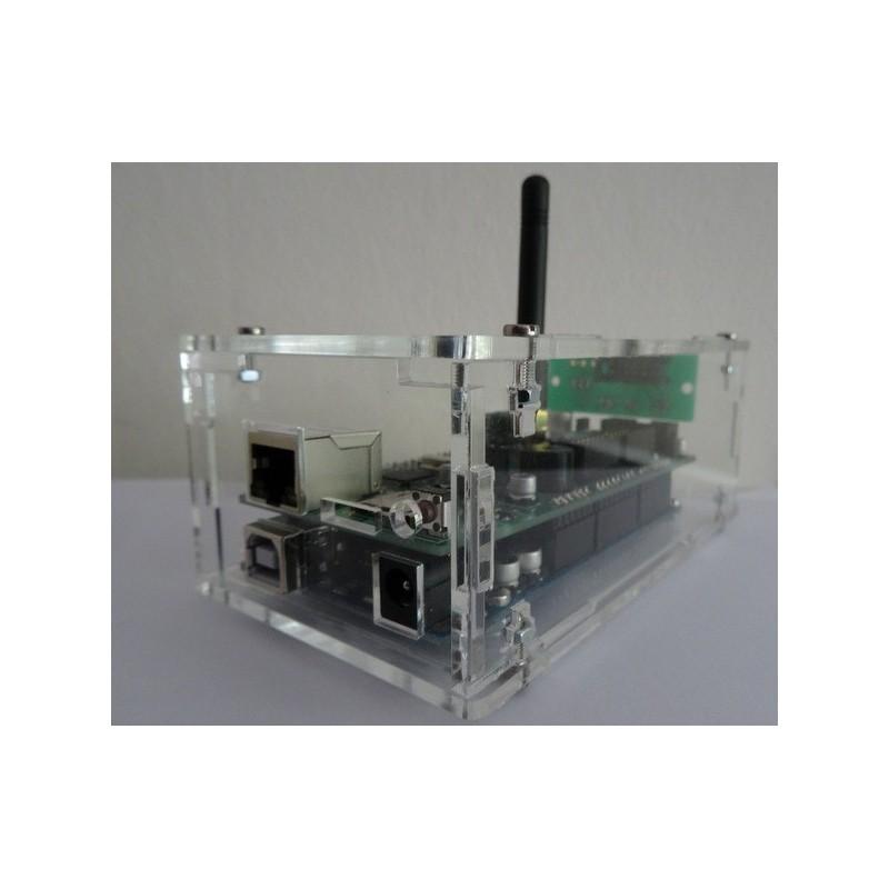 Doorzichtige Acryl NES Behuizing Antenne Versie