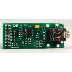 "Raspberry Pi Audio DAC met 3,5"" jack-plug aansluiting"