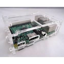 Raspberry Pi 2 en B+ behuizing transparant
