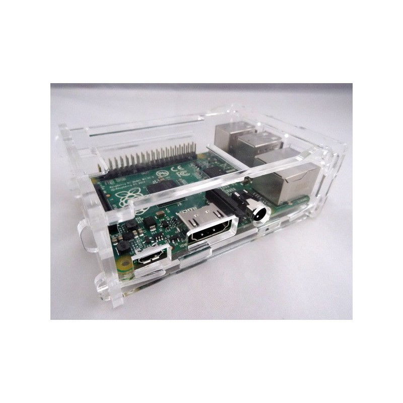 Raspberry Pi 2 eb B+ behuizing Transparant