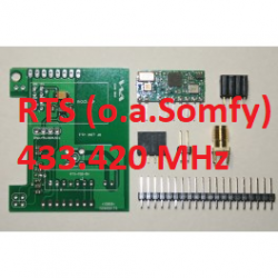 RFLink 433.42 Gateway componenten. (Somfy RTS)