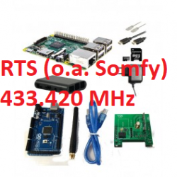 RFLink 433.42 (Somfy RTS)/Raspberry Pi 3 kit/Arduino/Antenna/USB cable