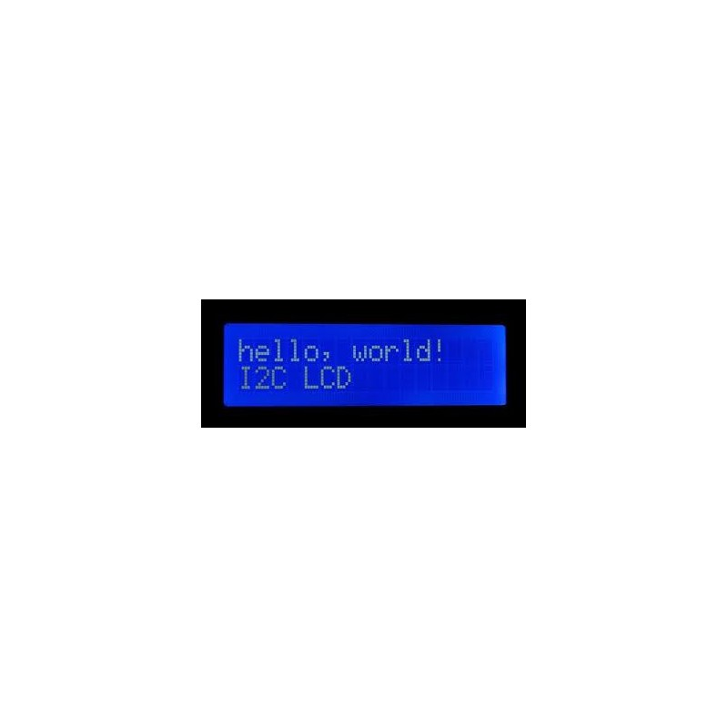 Blauw LCD Display I2C 16 x 2